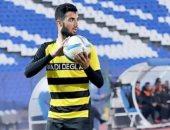 محمود مرعى مدافع فريق وادى دجلة