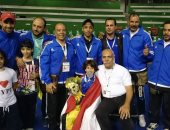 أبطال مصر فى كونغ فو الوشو