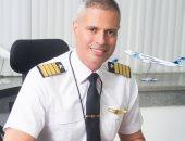 الطيار أحمد عادل رئيس الشركة القابضة لمصر للطيران