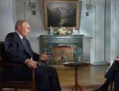 جانب من مقابلة الرئيس الروسى