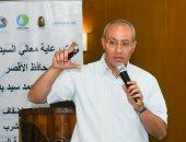 اللواء محمد يحيى رئيس شركة مياه الشرب والصرف الصحى بمحافظة الأقصر