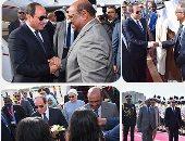 الرئيس السيسي يبدأ زيارة رسمية للسودان لمدة يومين