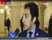 السفير بسام راضى المتحدث باسم رئاسة الجمهورية