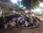 القمامة بشارع ترعة الجبل
