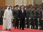 الشيخ محمد بن راشد ورئيس الصين