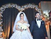 محمد عبد المعطى وزوجته فرح على