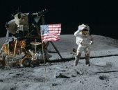 وصول رائد الفضاء الأمريكى نيل آرمسترونج إلى سطح القمر