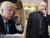 الرئيس الروسى فلاديمير بوتين ونظيره الأمريكى دونالد ترامب