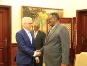 نائب رئيس مجلس الوزارء السوداني ووزير الخارجية البولندي