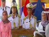 الملازم أول تحت الاختبار مصطفى نجل الشهيد مالك مهران