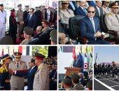 الرئيس السيسى فى حفل تخرج طلبه الكليات والمعاهد العسكرية
