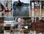 الفيضانات فى اليابان