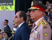 الرئيس السيسي فى حفل تخرج طلبة الكليات والمعاهد العسكرية
