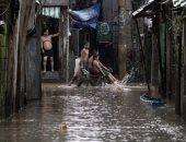 جانب من الفيضان