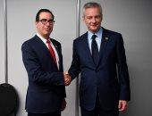 برونو لو مير وزير المالية الفرنسى