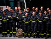 رجال الاطفاء فى فرنسا