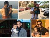 عمرو السولية و أبنته ليلى