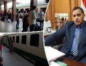 شكوى من سوء الخدمة بالقطارات + أشرف رسلان رئيس هيئة السكة الحديد