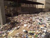 انتشار القمامة بشوارع الواسطى