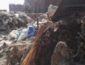 تراكم أكوام القمامة فى حى مبارك بالزقازيق