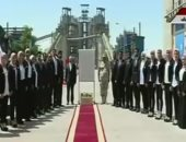 افتتاح مجمع أسمنت بنى سويف