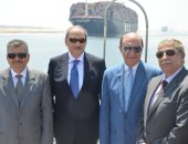 محافظ الإسماعيلية ومهاب مميش يستقبلان النائب العام