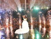 جانب من حفل زفاف أحمد أمين لطفى ومريهان ممدوح