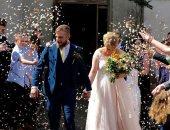 الحب يتحدى الزهايمر فى حفل زفاف دانيا وجوردان