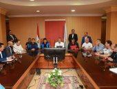 مؤتمر وزير الشباب ومحافظ كفر الشيخ