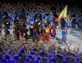 افتتاح دورة الألعاب الآسيوية بأندونيسيا