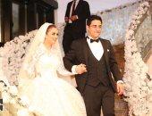 جانب من حفل زفاف أحمد نبوى