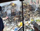 القمامة بشارع كمال حجاب