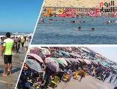 شواطىء مصر تتزين لاستقبال الزوار فى العيد