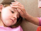 طفل مصاب بالحمى - أرشيفية