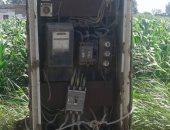 تهالك محول الكهرباء فى قرية نواج بمركز طنطا