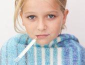 نزلات البرد عند الاطفال