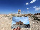 معبد بل من آثار تدمر المدمرة