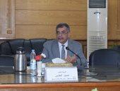 الدكتور حسين المغربى القائم بأعمال رئيس جامعة بنها