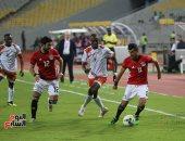 جانب من مباراة مصر والنيجر