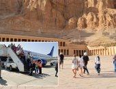 السياح خلال موسم السياحى فى الأقصر