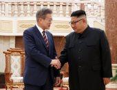رئيسا كوريا الجنوبية والشمالية