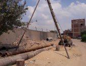 مشروع الصرف الصحى بقرية الحجاز فى الإسماعيلية