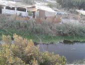 التعدى على نهر النيل بالعياط