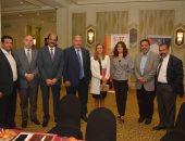 أعضاء الجمعية المصرية المغريية ورئيس هيئة تنمية الصادرات