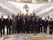 مجلس الوزراء يكرم المحافظين السابقين