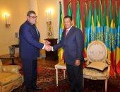 الرئيس الاثيوبى يُستقبل السفير المصرى