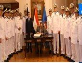 لقاء الرئيس السيسى بالمجلس الأعلى للشرطة
