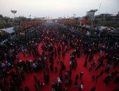 مئات العراقيين يحتفلون بذكرى عاشوراء