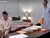 محمد صبحى وجميل راتب فى كواليس مسلسل ونيس
