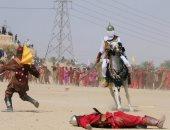 جانب من مشهد قتل الإمام الحسين